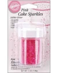 Cake sparkles Pink